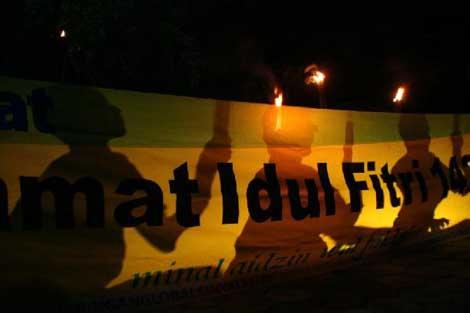 malam takbiran Idul Fitri 1430 H