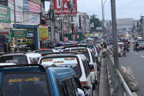 kemacetan Ciputat