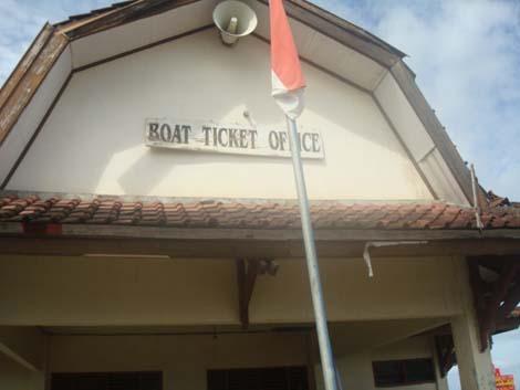 Tiket Office di Bangsal
