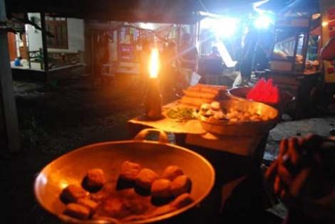 Pedagang tahu yang datang dari Jombang
