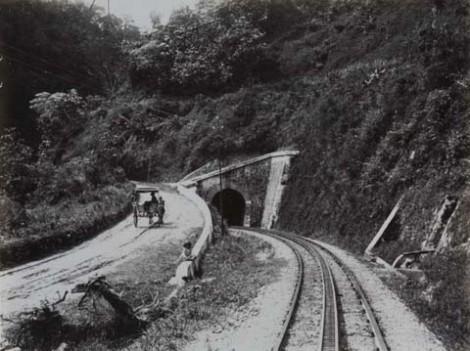 Terowongan Anai, tahun 1910