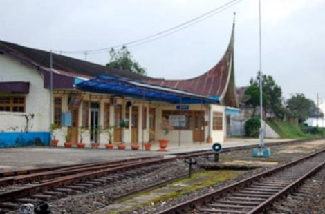 Keadaan Stasiun KA Padang Panjang saat ini