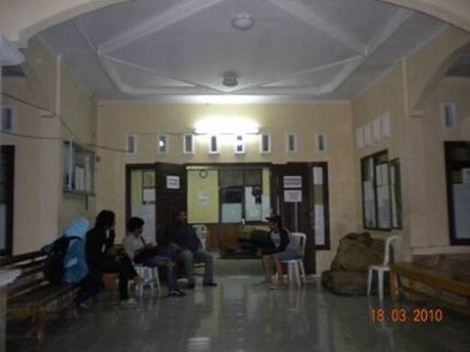 Ruang dalam kantor Satpol PP