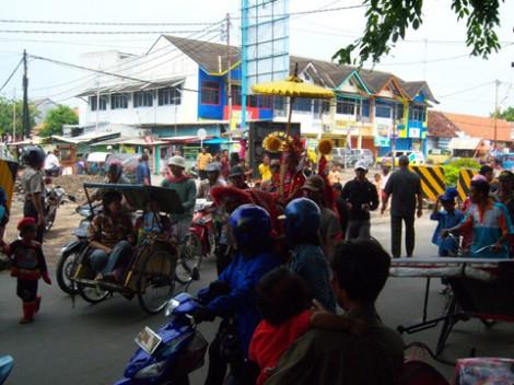 Arak-arakan Burok di Cirebon