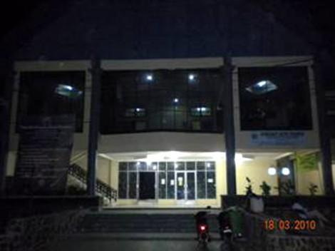 Gedung tempat pementasan teater