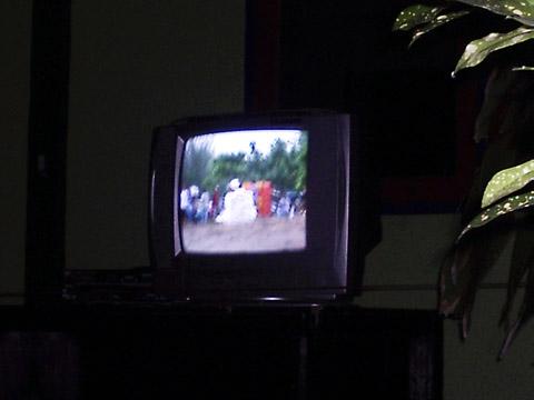 Pemtaran video akumassa Pemenang