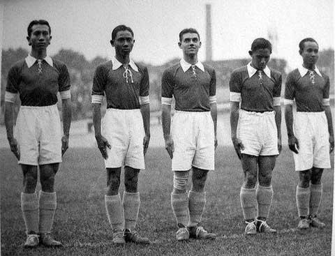 Tim Nasional Indonesia pernah masuk Piala Dunia 1938 di Perancis, dengan nama Dutch East Indies