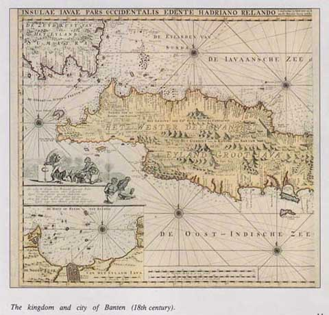 Peta Banten jaman dahulu