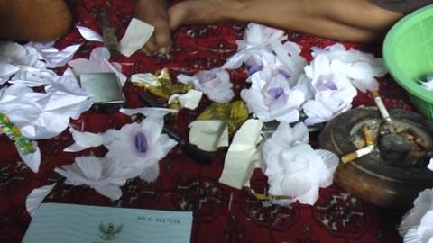 Bahan-bahan bunga