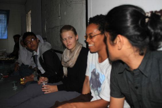 Beberapa pengunjung dari Amerika juga hadir dalam sesi diskusi