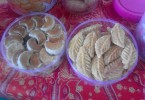 Kue lebaran yang biasanya disajikan di Hari Raya Idul Fitri.
