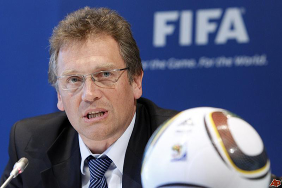 Jerome Valcke, Sekretaris Jendral FIFA (Gambar diakses dari http://www.allsoccerplanet.com/we-are-late-and-we-will-have-challenges-valcke-bemoans-poor-wc-preparations-by-brazil/).