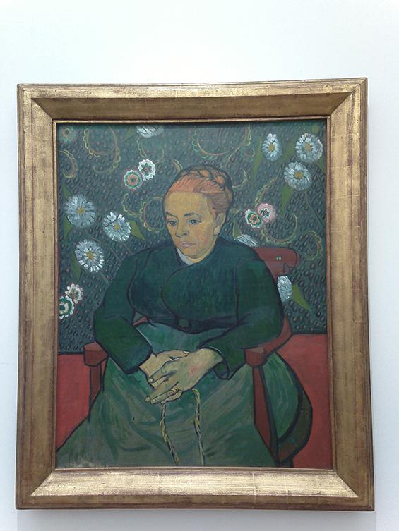 Augustine Roulin (La berceuse), 1989, karya Vincent van Gogh.