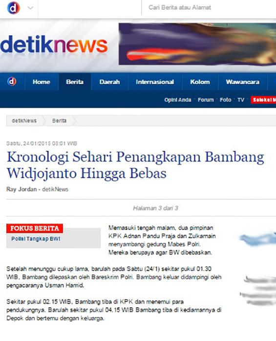 Artikel di detiknews.