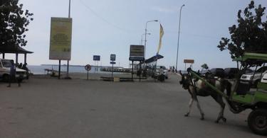 Pelabuhan Bangsal.
