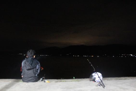 Suasana Mancing di Bonjo pada malam Hari 06