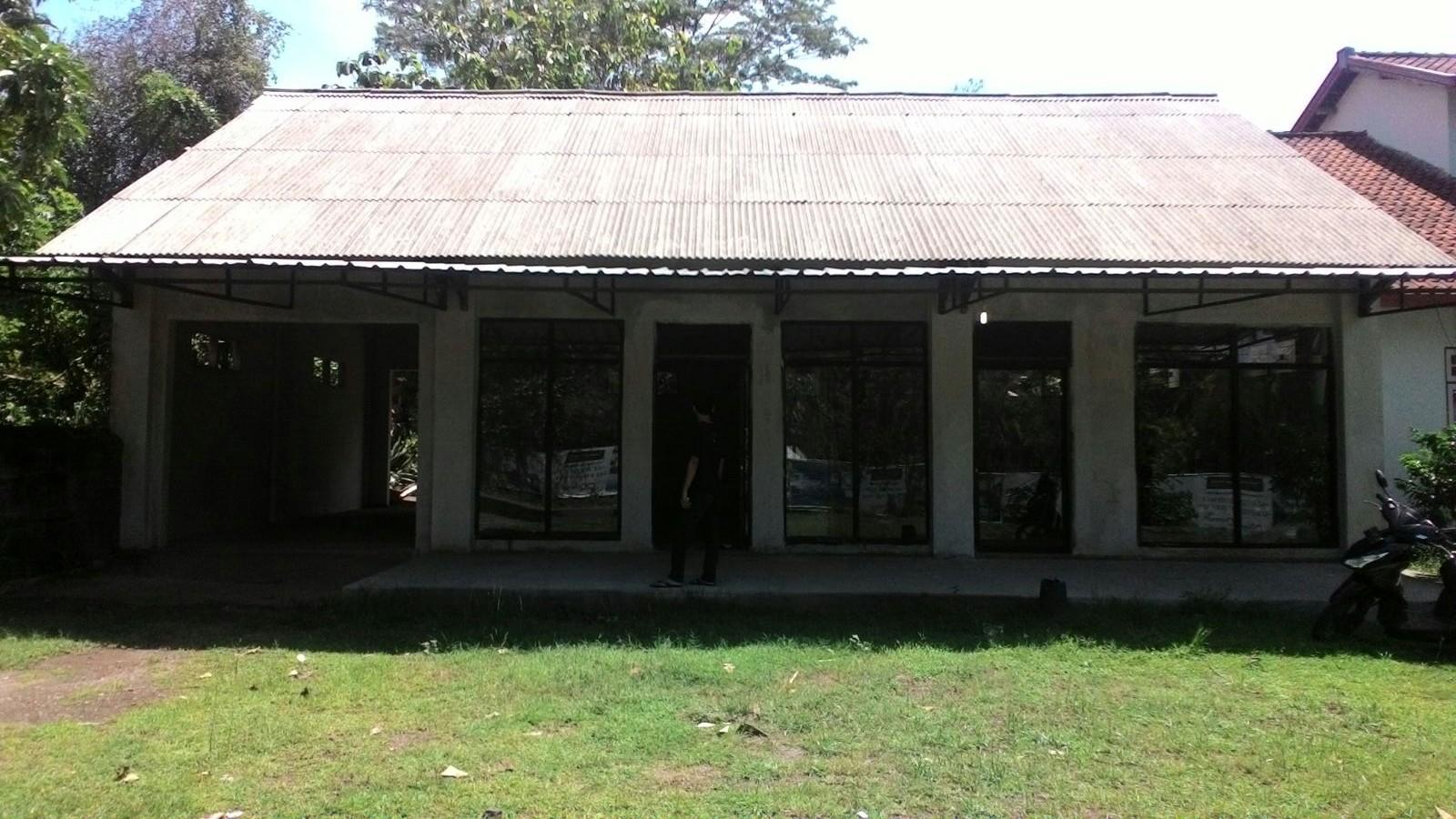 Bentuk ruangan-ruangan bangunan di Dusun Cupek, Sigar Penjalin.