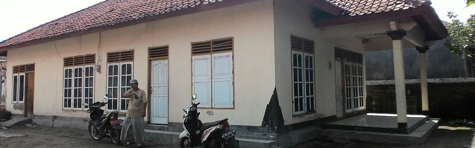 Rumah Pak Mas'un.