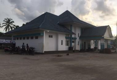 LOMBOK UTARA, 24 Februari, 2016: Gedung Syahbandar Pelabuhan Bangsal.